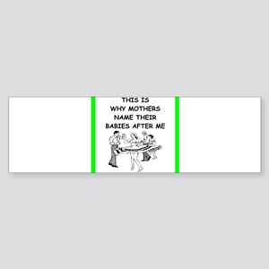 line and square dancing Bumper Sticker