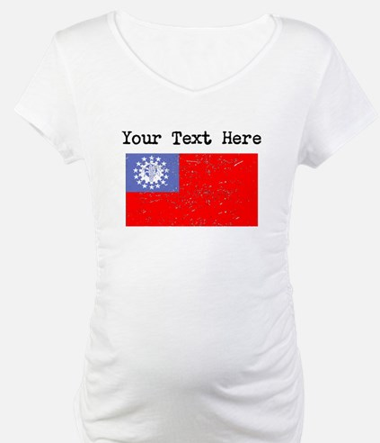 Burma Flag (Distressed) Shirt