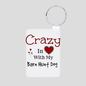 Barn Hunt Dog Keychains