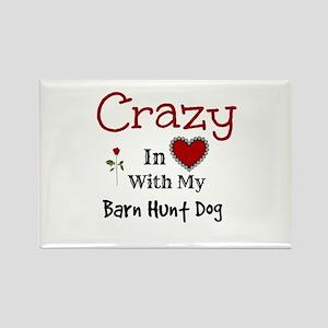 Barn Hunt Dog Magnets