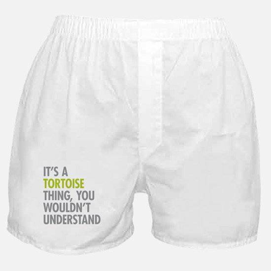 Tortoise Thing Boxer Shorts