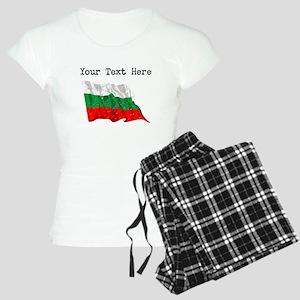 Bulgaria Flag (Distressed) Pajamas