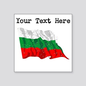 Bulgaria Flag (Distressed) Sticker