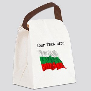 Bulgaria Flag (Distressed) Canvas Lunch Bag