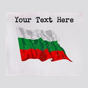 Bulgaria Flag (Distressed) Throw Blanket