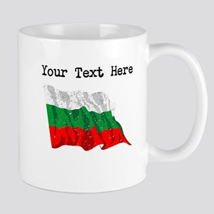 Bulgaria Flag (Distressed) Mugs