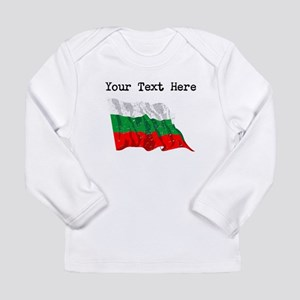 Bulgaria Flag (Distressed) Long Sleeve T-Shirt