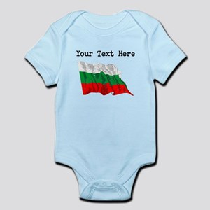 Bulgaria Flag (Distressed) Body Suit