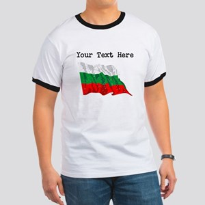 Bulgaria Flag (Distressed) T-Shirt