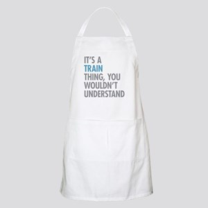 Train Thing Apron