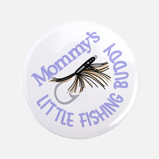 Little Fishing Buddy Button