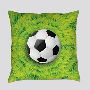 Ball On Grass Everyday Pillow