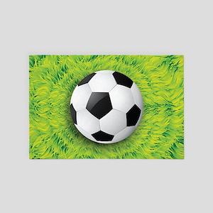 Ball On Grass 4' x 6' Rug