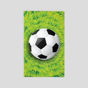 Ball On Grass Area Rug
