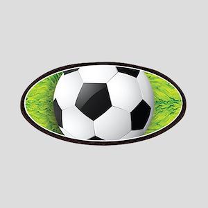 Ball On Grass Patch
