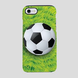 Ball On Grass iPhone 7 Tough Case