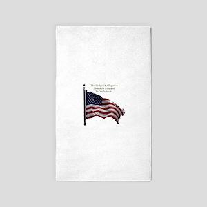 Pledge Of Allegiance Area Rug