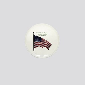 Pledge Of Allegiance Mini Button