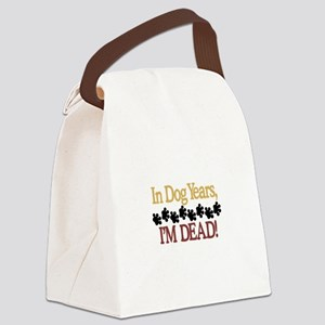 Dog Years Canvas Lunch Bag