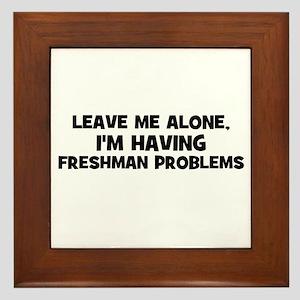 Leave Me Alone, I'm Having fr Framed Tile