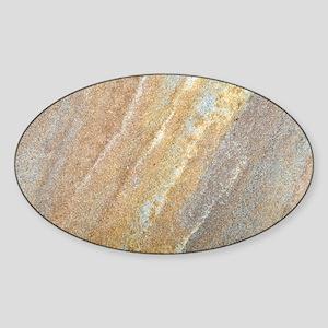 Faux Sandstone Sticker (Oval)