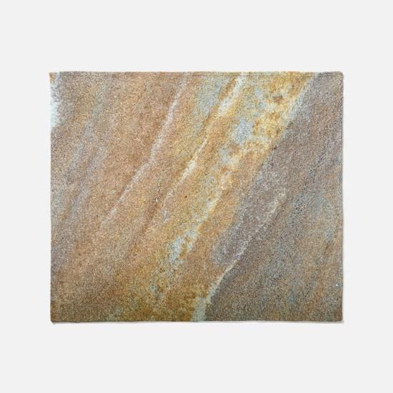 Faux Sandstone Throw Blanket