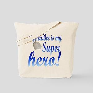 my seabee is my hero Tote Bag