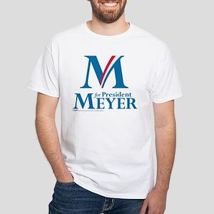 Meyer President White T-Shirt