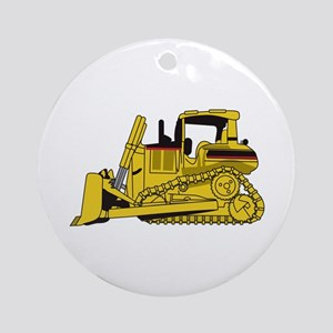 Dozer Ornament (Round)