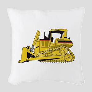 Dozer Woven Throw Pillow