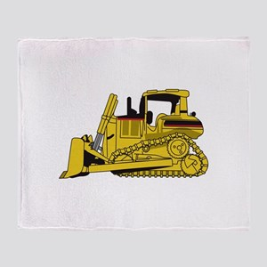 Dozer Throw Blanket