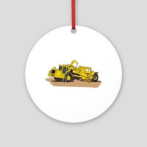 Scraper Truck Ornament (Round)
