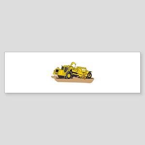 Scraper Truck Bumper Sticker