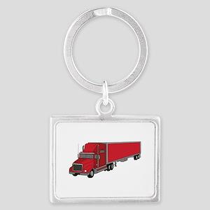 Semi-Truck 1 Keychains