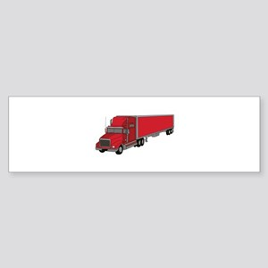 Semi-Truck 1 Bumper Sticker