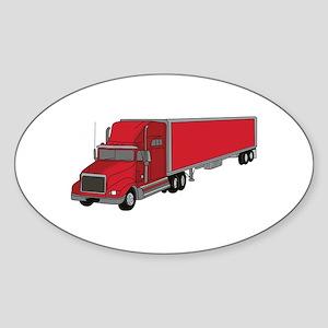 Semi-Truck 1 Sticker