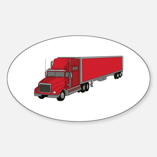 Semi-Truck 1 Decal