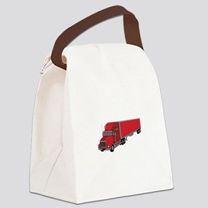 Semi-Truck 1 Canvas Lunch Bag