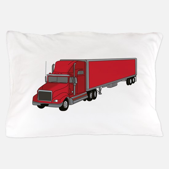 Semi-Truck 1 Pillow Case