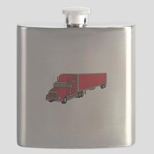 Semi-Truck 1 Flask