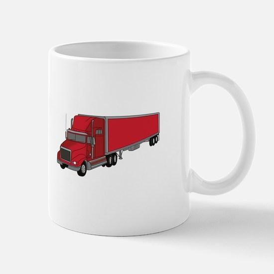 Semi-Truck 1 Mugs