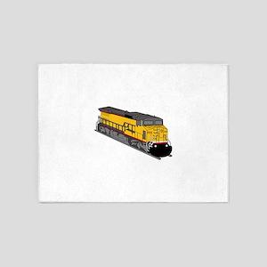 Locomotive 1 5'x7'Area Rug