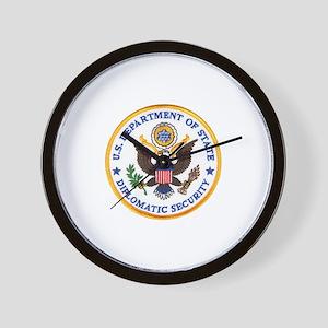 Diplomatic Security Wall Clock