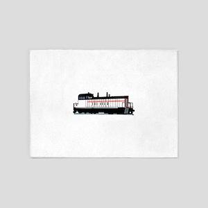 Locomotive 5'x7'Area Rug