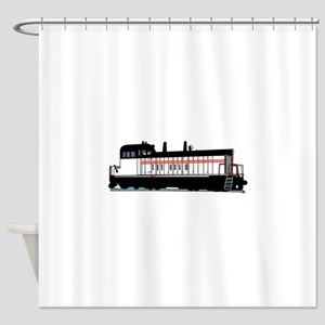 Locomotive Shower Curtain