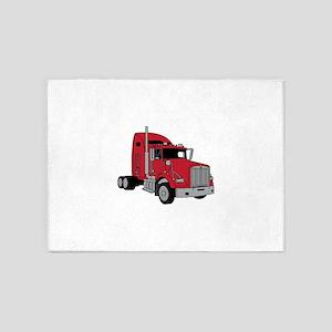 Kenworth Tractor 5'x7'Area Rug