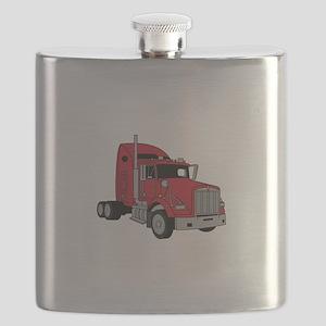 Kenworth Tractor Flask