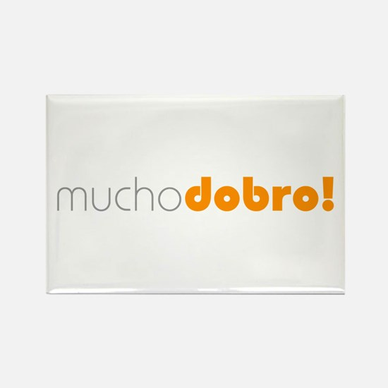 (R) Mucho Dobro! Rectangle Magnet