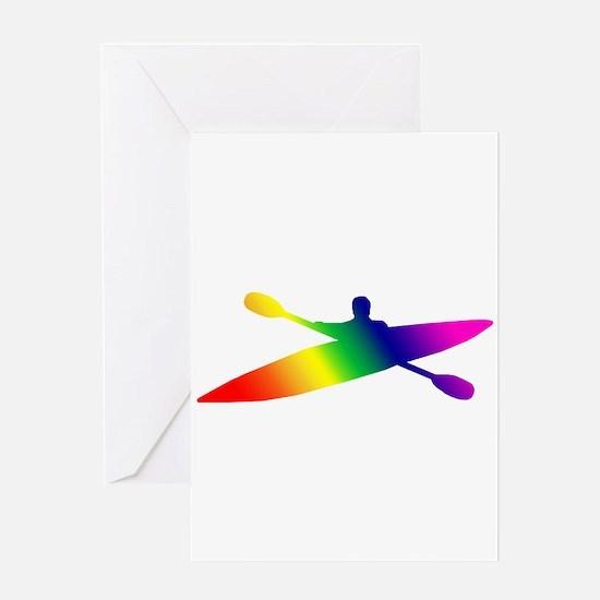 Kayak Greeting Card