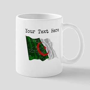 Algeria Flag (Distressed) Mugs
